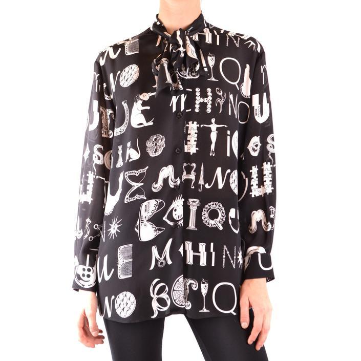 Boutique Moschino Women's Shirt Black 169163 - black 40