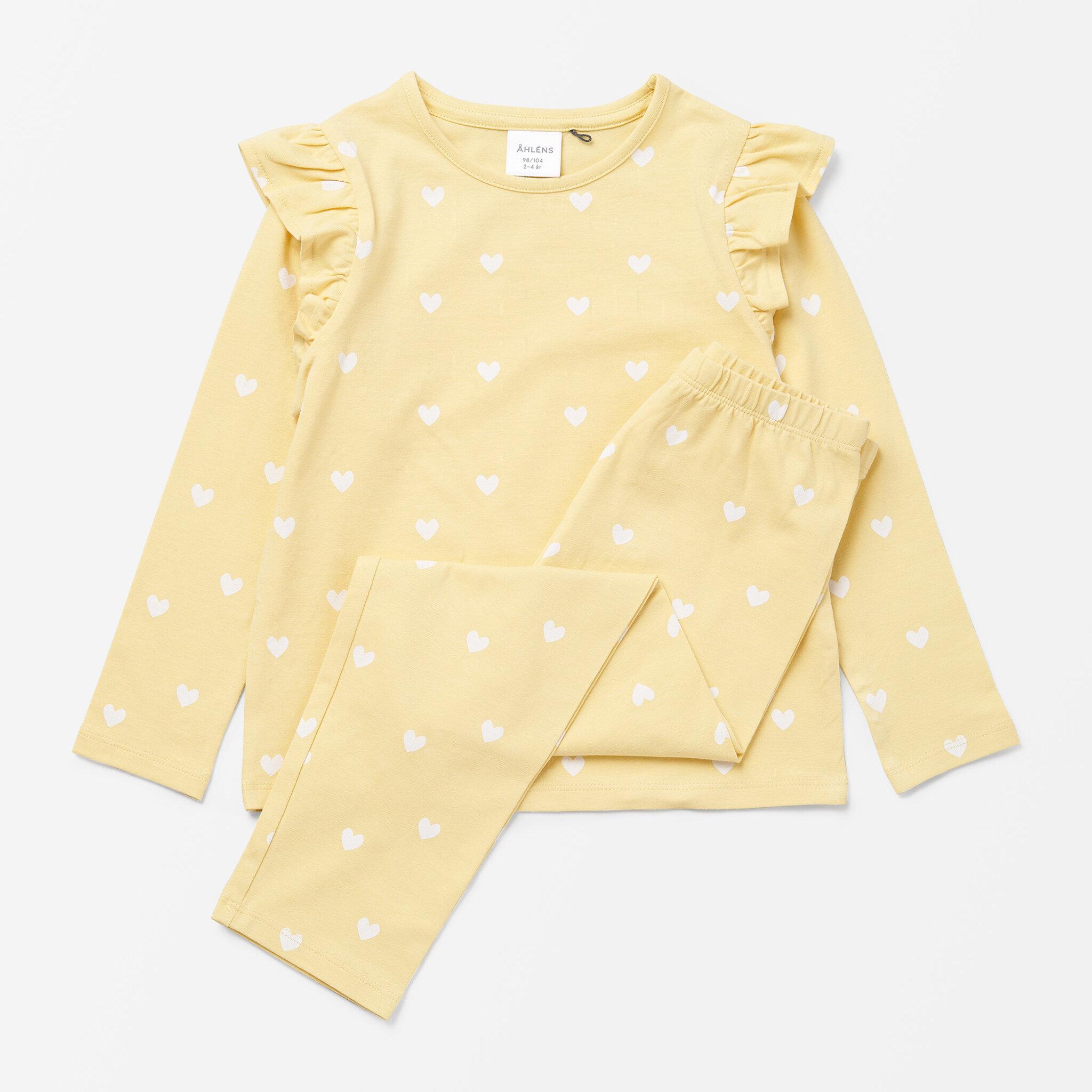 Pyjamas med volang, 2-delad