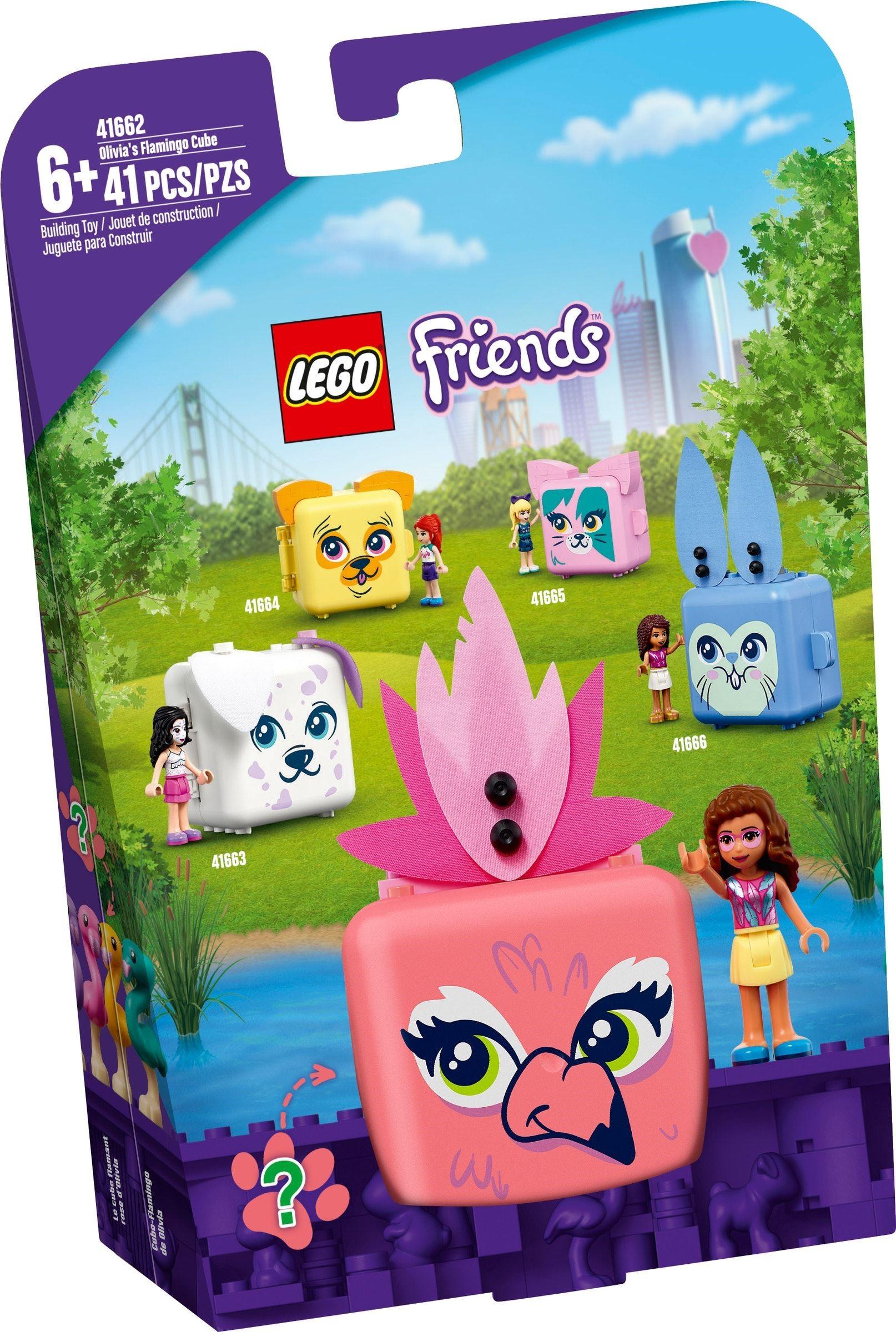LEGO Friends - Olivia's Flamingo Cube (41662)