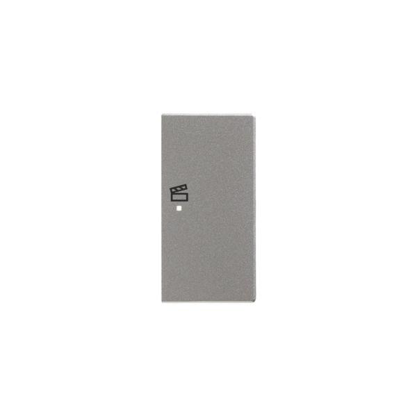 ABB Impressivo 6220-0-0174 Yksiosainen vipupainike tilanneohjaus, oikea Alumiini