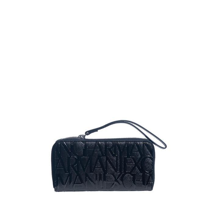 Armani Exchange Women's Wallet Black 180585 - black UNICA