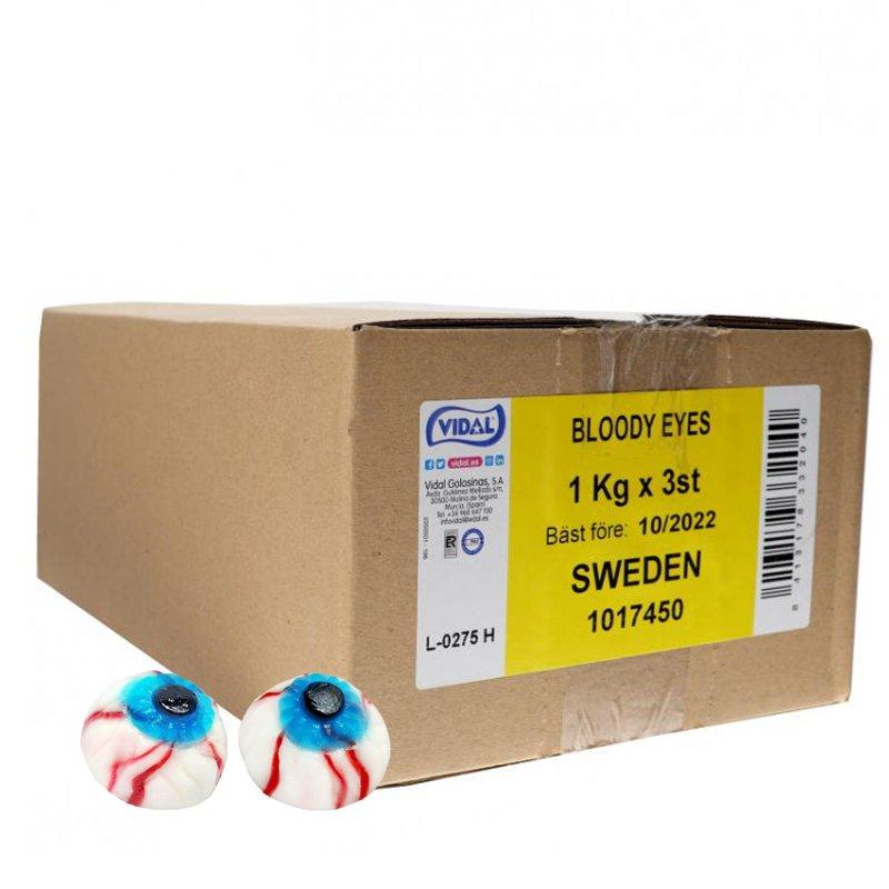 Bloody Eyes Godis - 50% rabatt