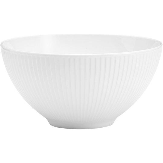 Pillivuyt Plissé skål, 1,65 liter / Ø 20 cm.