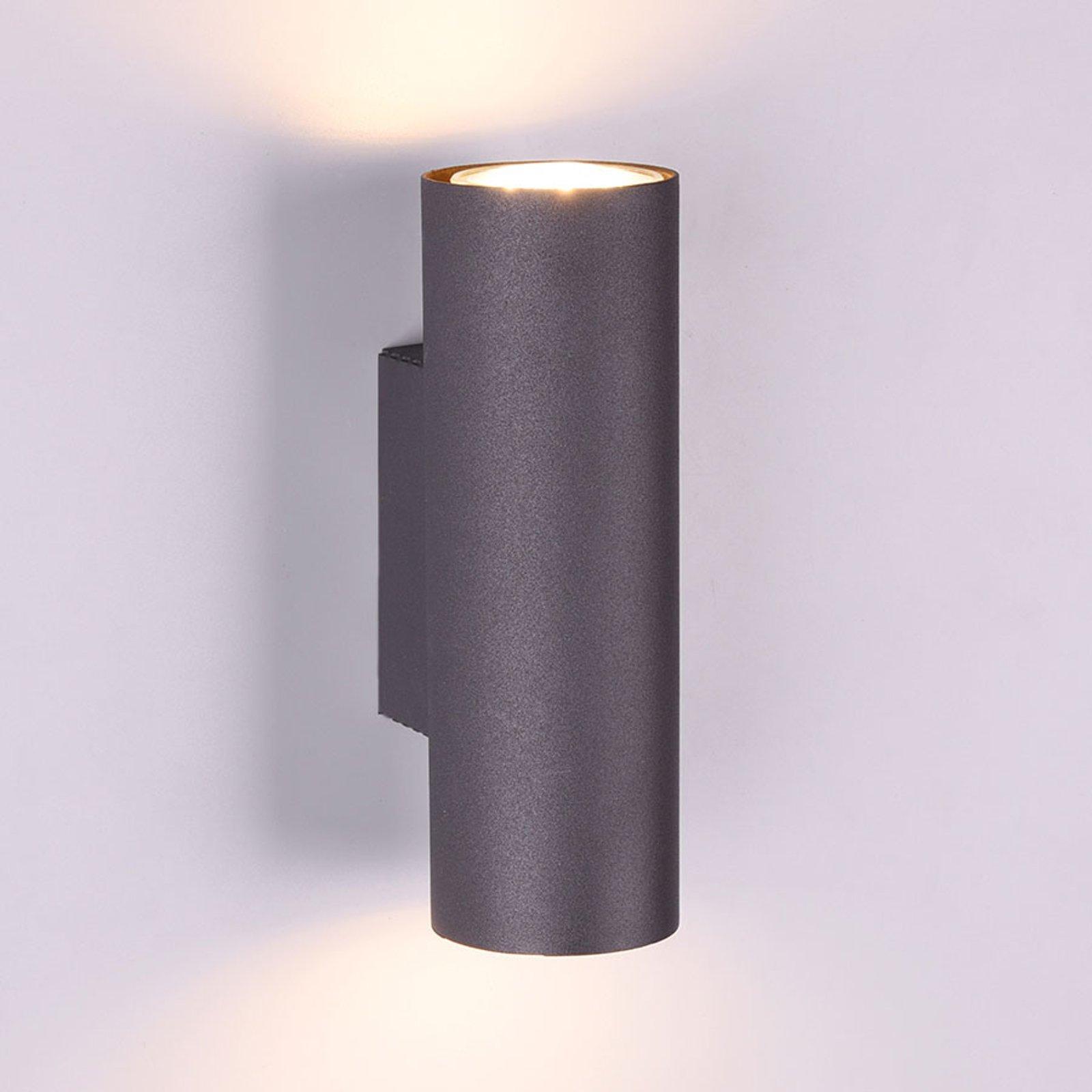 Vegglampe Marley 2 lyskilder svart