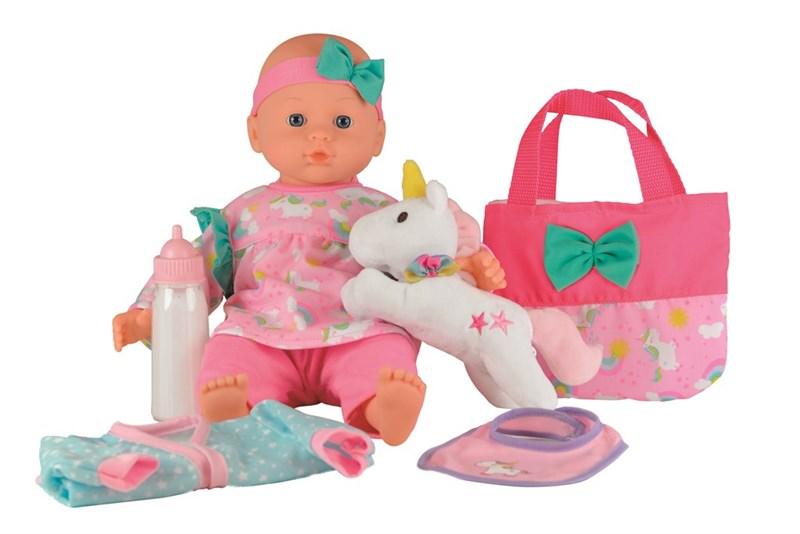 Happy Friend - Sanne doll with unicorn, 36 cm (504210)