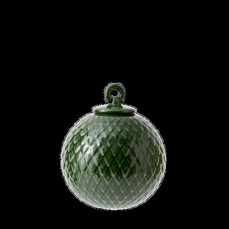Rhombe Dekorasjonskule Ø7 cm Copenhagen Green Porselen