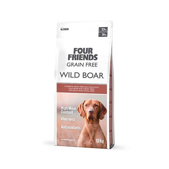 FourFriends Dog Grain Free Wild Boar (17 kg)