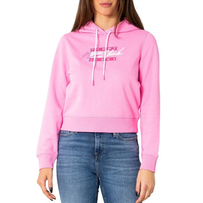 Tommy Hilfiger Jeans Women's Sweatshirt Pink 252558 - pink XS