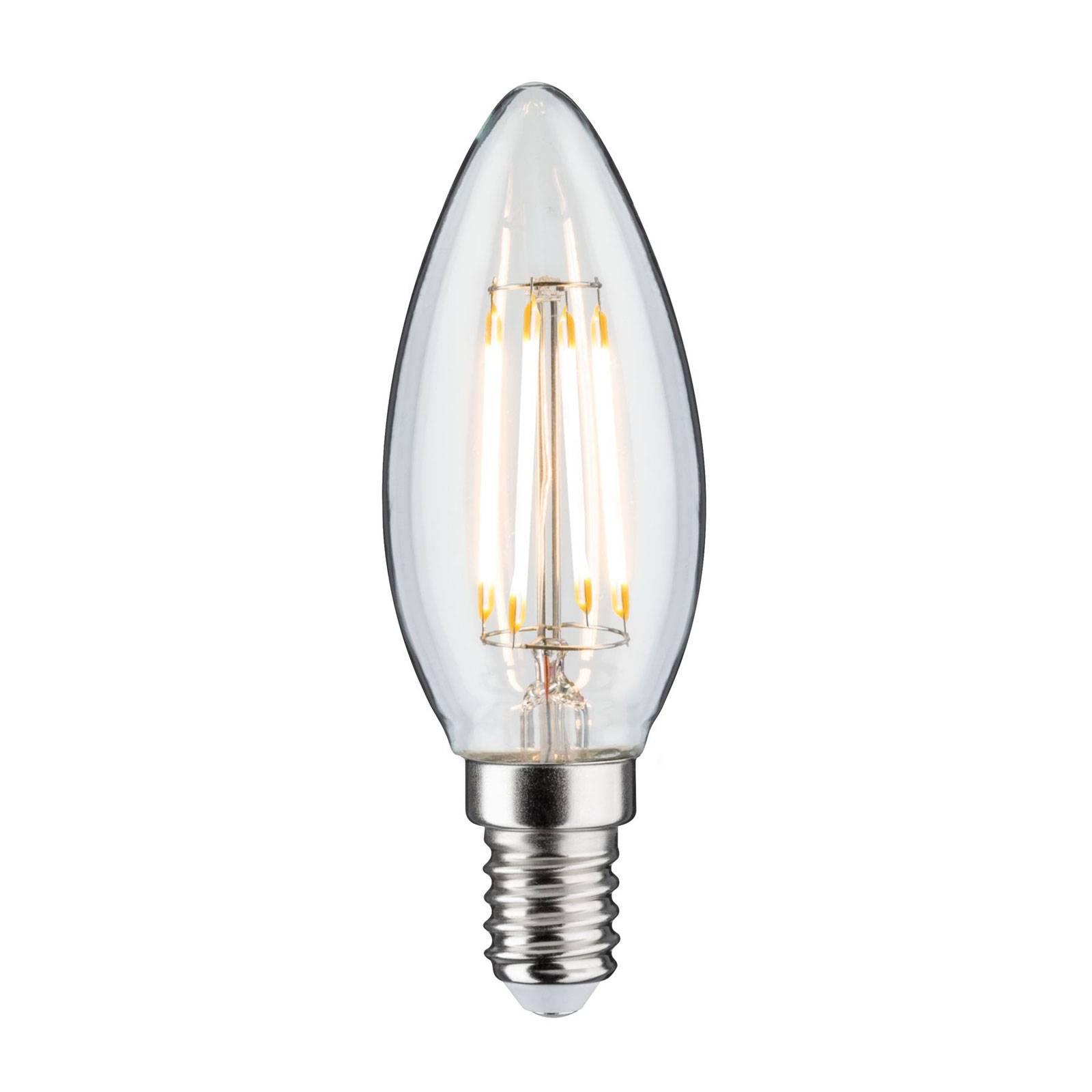 LED-kynttilälamppu E14 4,8W Filament 2700K