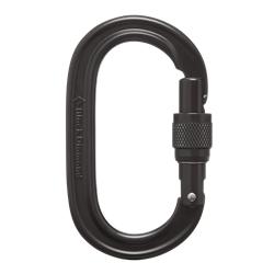 Black Diamond Oval Keylock Screwgate Biner