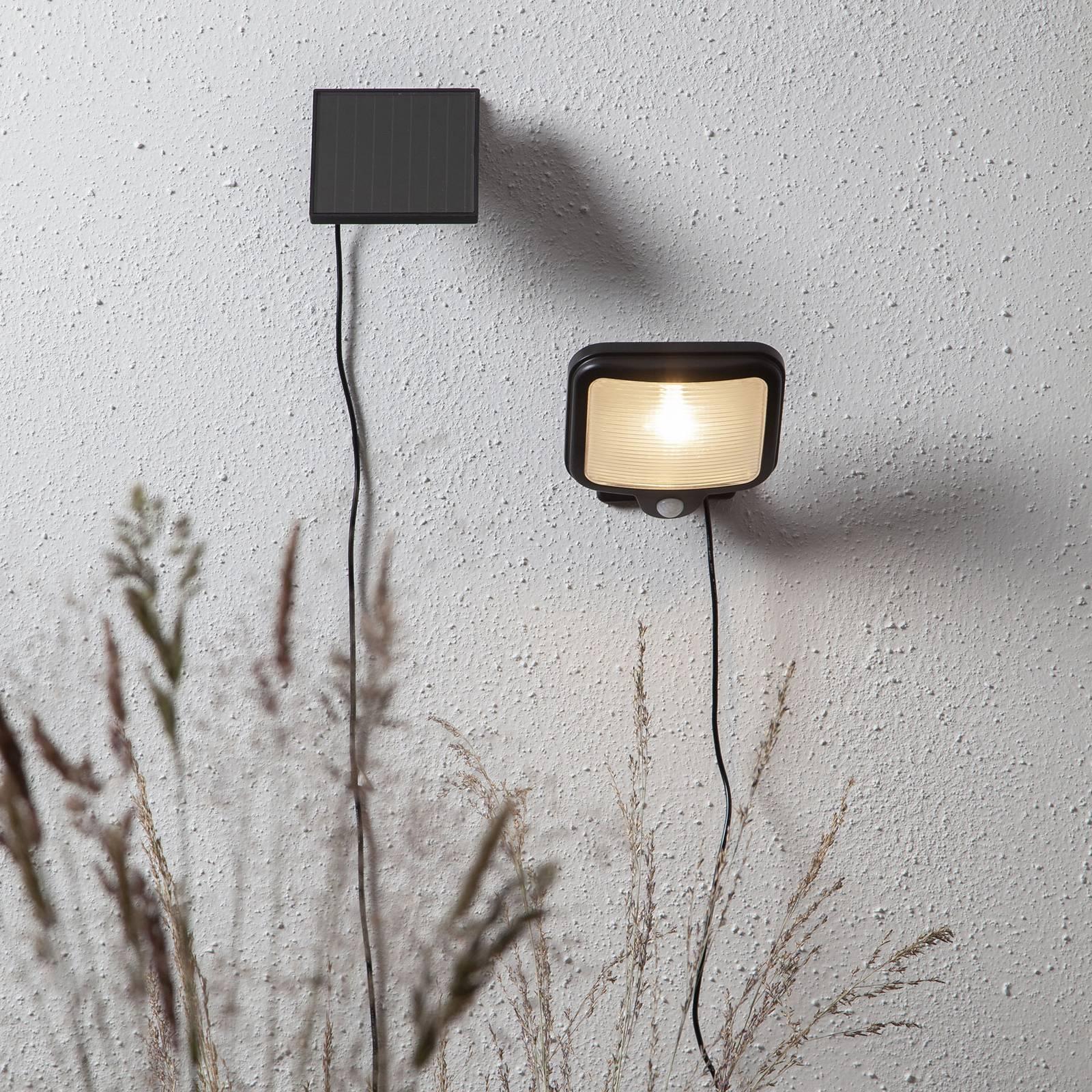 Powerspot Sensor -LED-valaisin, kulmikas musta 200