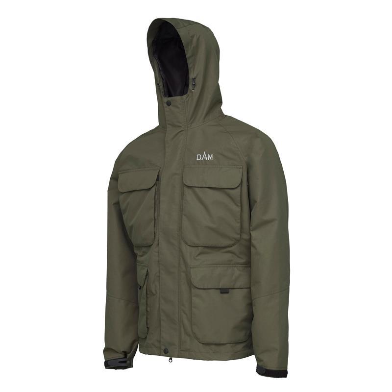 DAM Manitoba Fishing Jacket M Vannavisende membran jakke