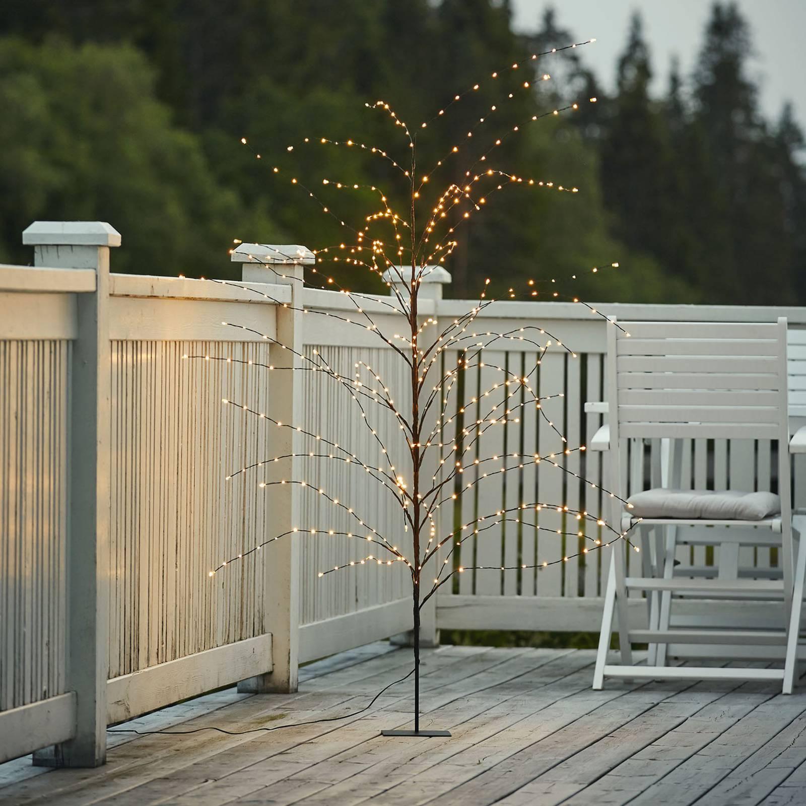 Reedy-LED-koristevalaisin, korkeus 180 cm