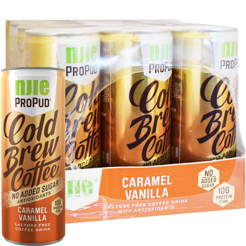 Coldbrew Coffee Caramel Vanilla 12-pack - 50% rabatt