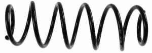 Jousi (auton jousitus), Taka-akseli, MERCEDES-BENZ A-KLASS [W169], B-KLASS [W245], 169 324 09 04, A 169 324 09 04