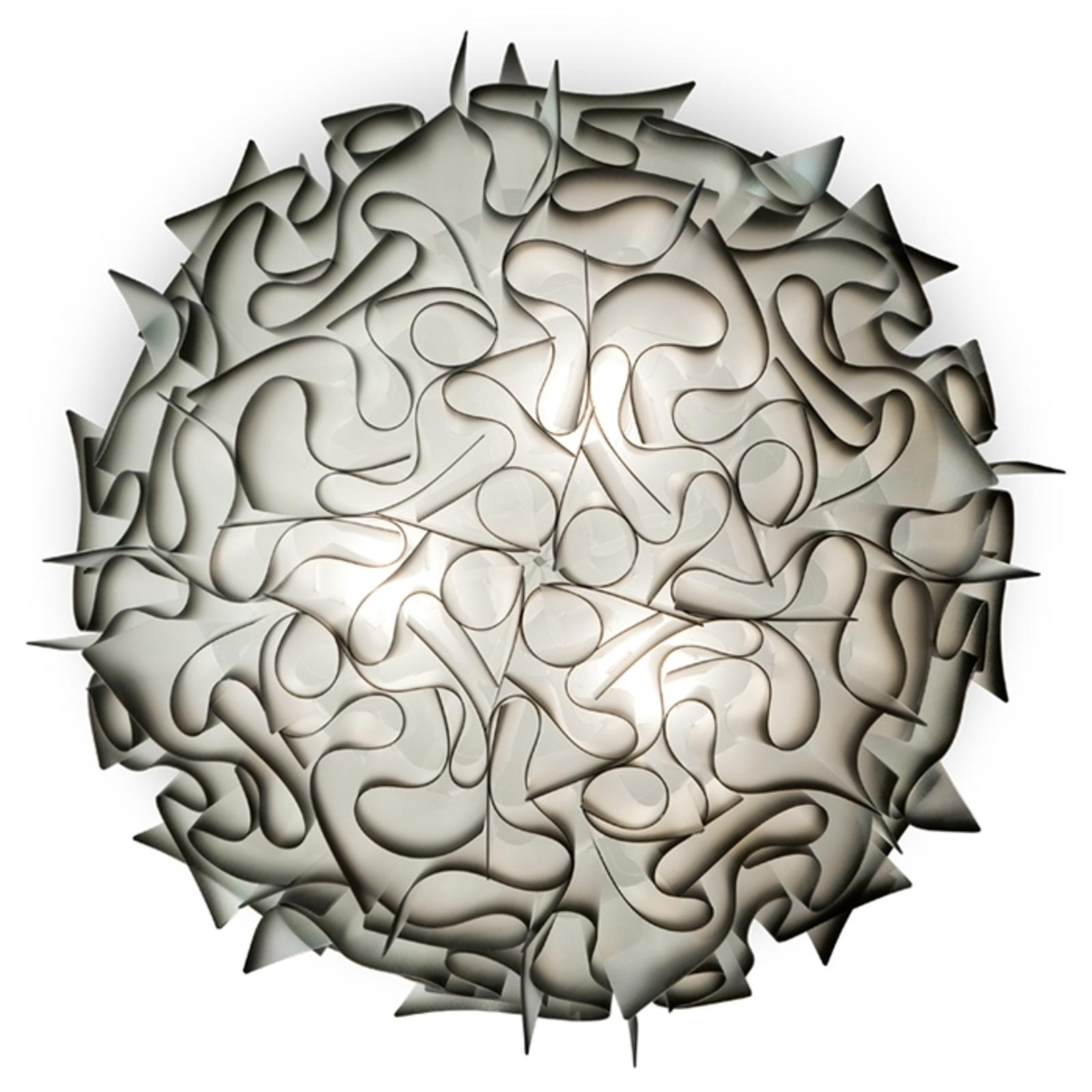 Slamp Veli -design-kattovalo, Ø 78 cm, antrasiitti