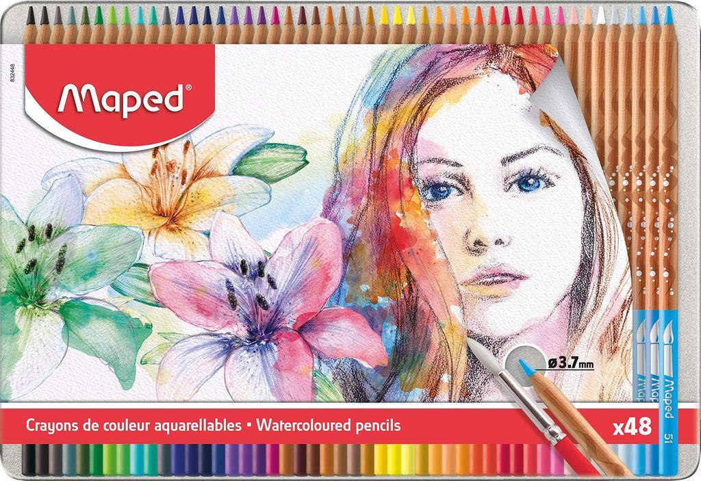 Maped - Artists - Watercolor Pencils (48 pcs) (832448)