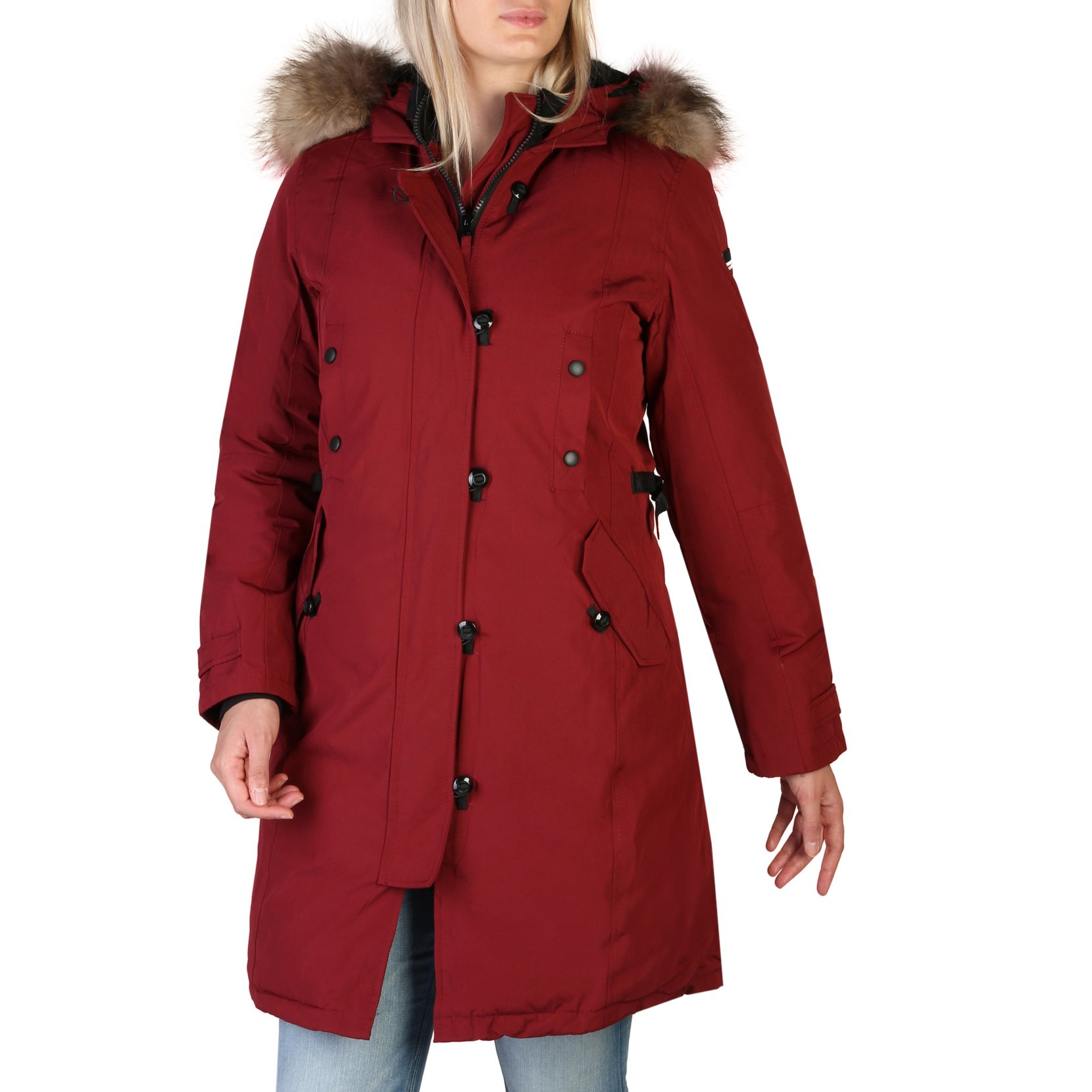 Alessandro Dell'Acqua Women's Jacket Various Colours 348389 - red XS