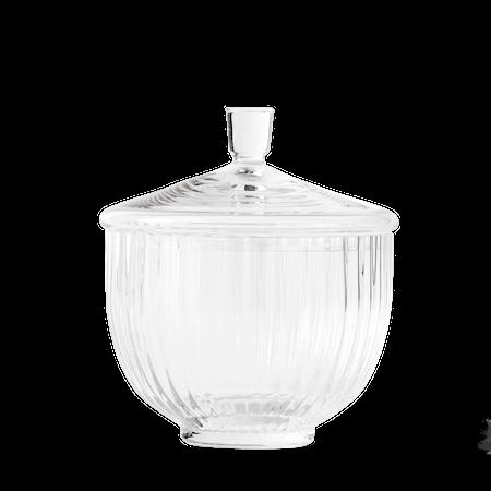 Bonbonjär Munnblåst Glass Klart Ø14 cm