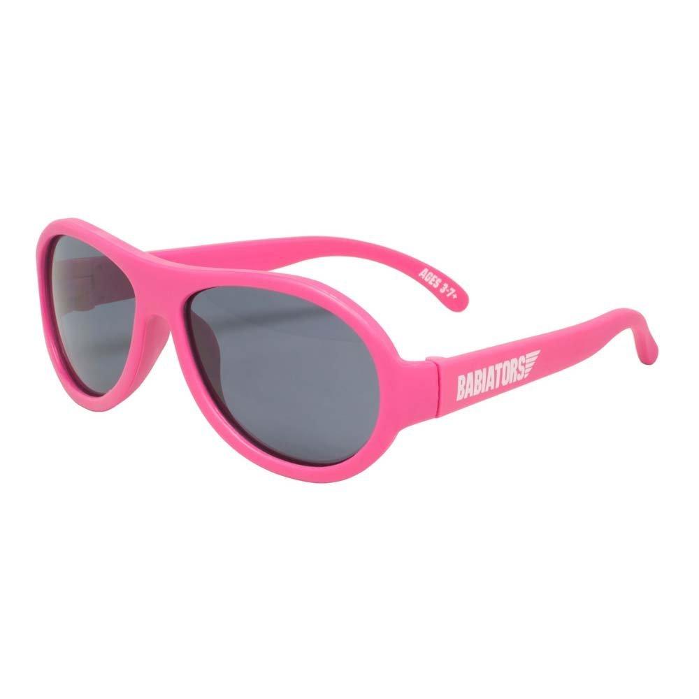 Babiators - Original Aviator - Solglasögon för barn - Popstar Pink (3-7 år)