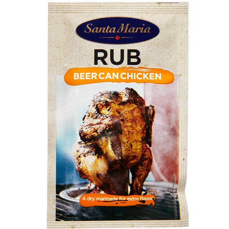 Rub Beer Can Chicken - 17% rabatt