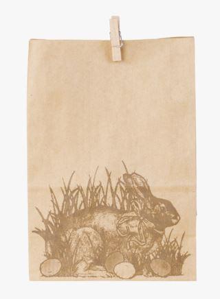 Haremor paperipussi luonnonväri