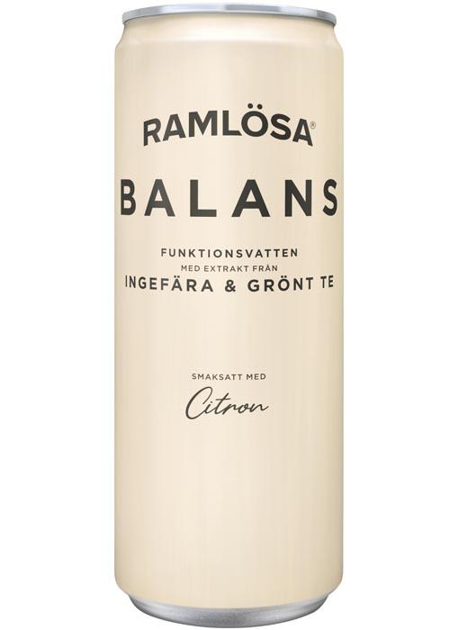 Ramlösa Funktionsvatten Balans 33 cl
