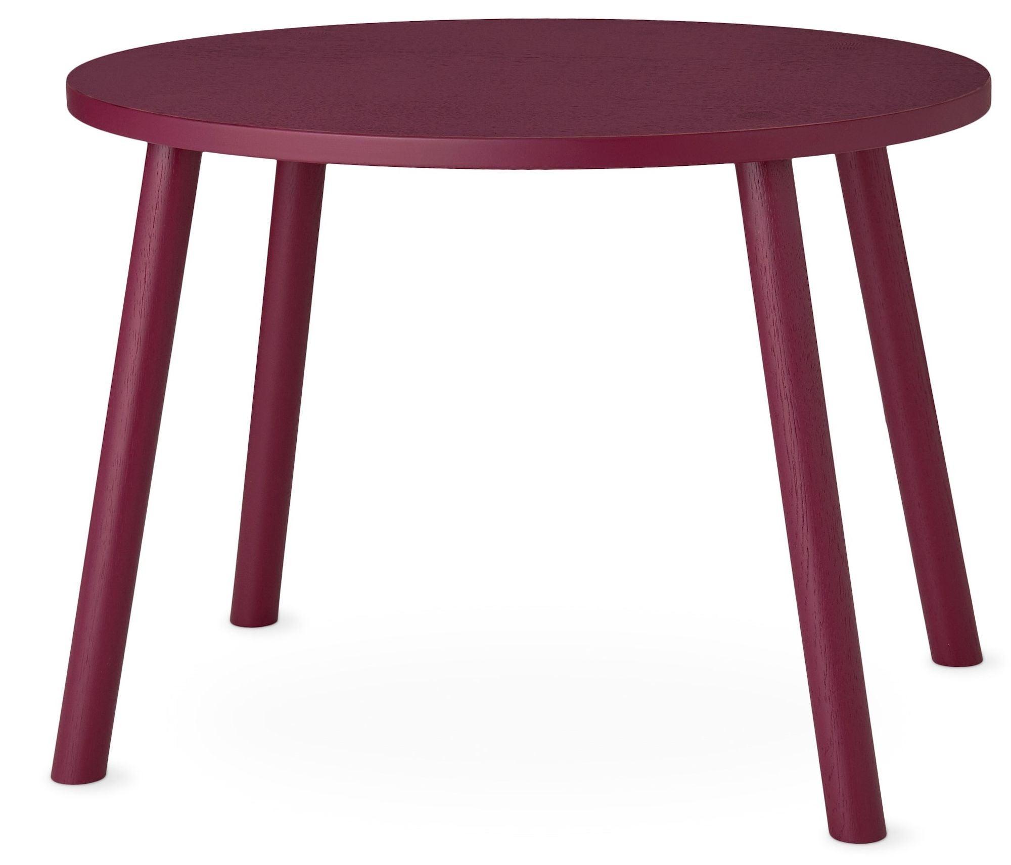 Nofred Mouse Pöytä, Burgundy