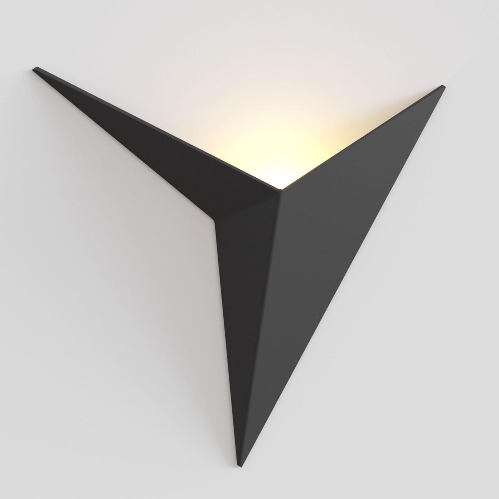 LED-seinävalaisin Trame, musta
