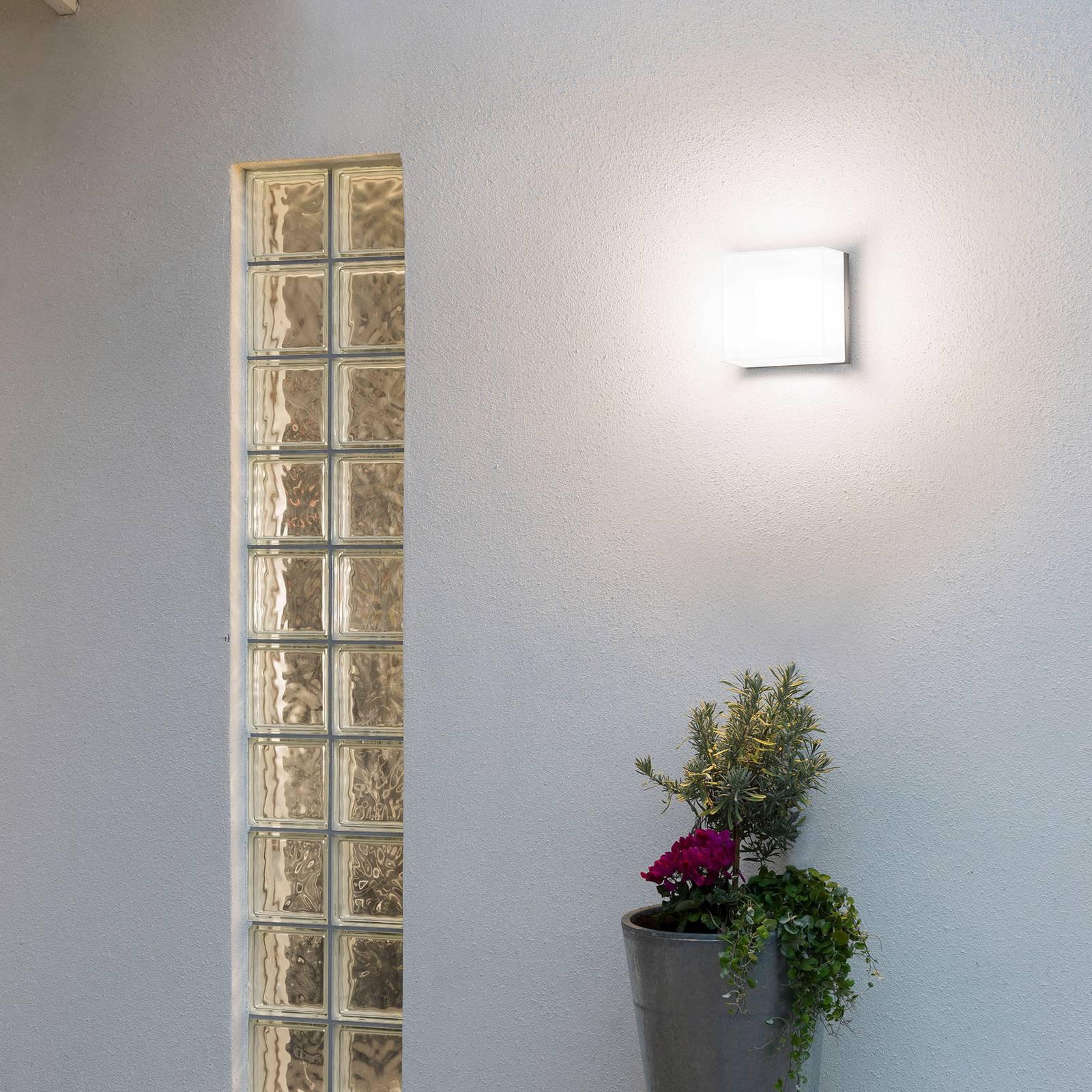 Sanremo utendørs vegglampe E27, 21 x 21 cm