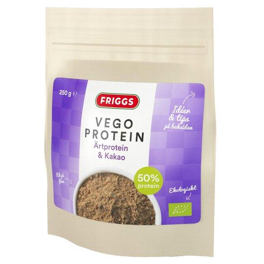 Kasvisproteiinilisä Herneproteiini & Kaakao 250 g - 53% alennus