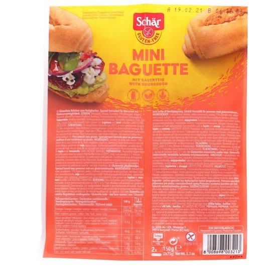 Minibaguetter Glutenfria - 32% rabatt