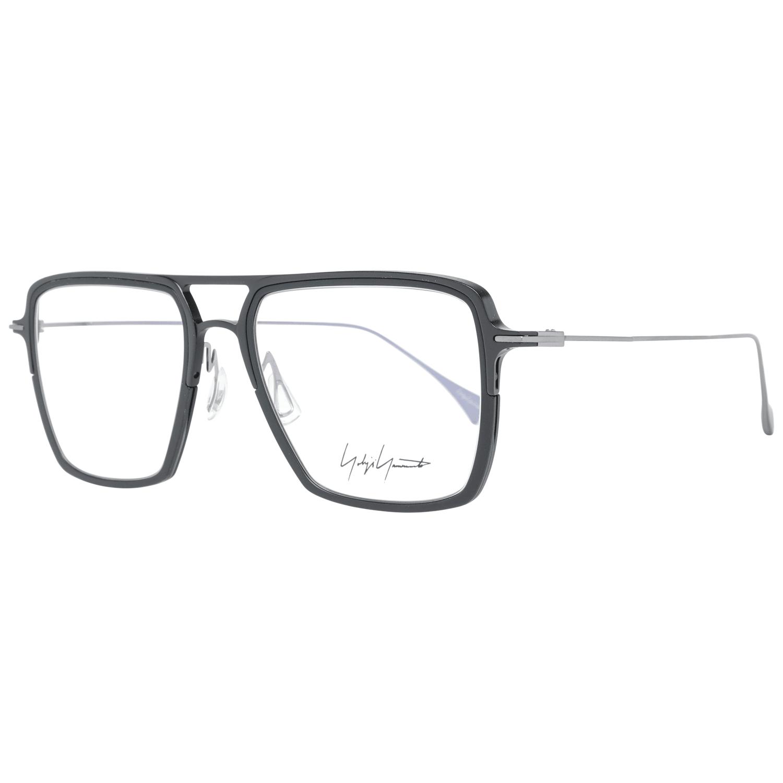 Yohji Yamamoto Men's Optical Frames Eyewear Black YY1043 53002
