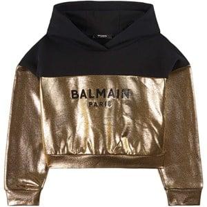 Balmain Logo Huvtröja Guld 8 år