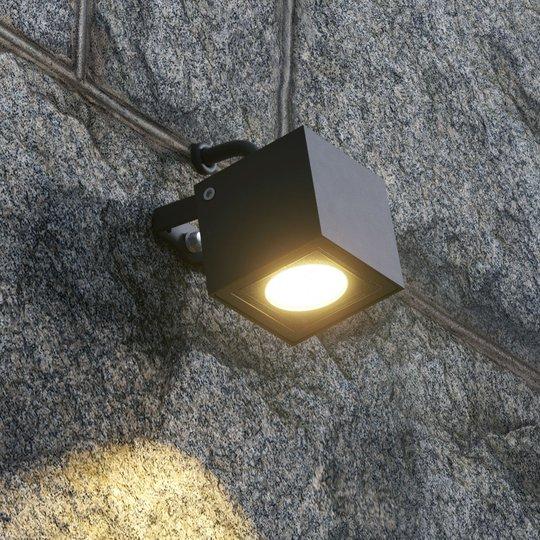 Kulmikas LED-ulkokohdevalo Mariana, grafiitti