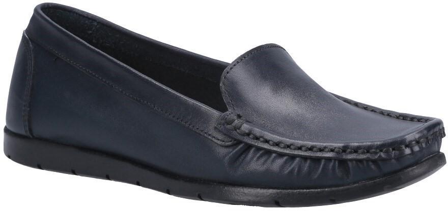 Fleet & Foster Women's Tiggy Slip On Loafer Various Colours 31018-52941 - Navy 3
