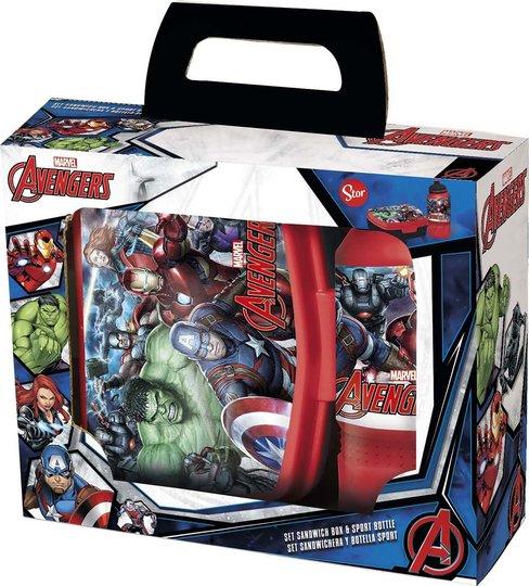 Avengers Gavesett med Matboks & Drikkeflaske
