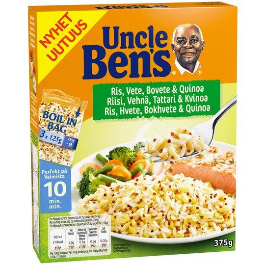 Ris Långkornigt, Bovete & Quinoa 375g - 40% rabatt