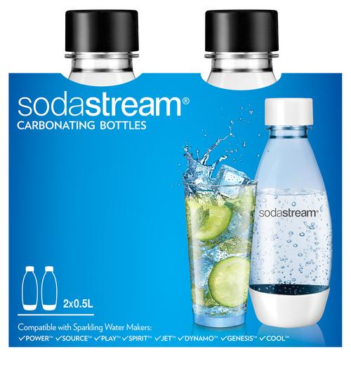 Sodastream Fuse Black 2x0,5l Kolsyremaskin