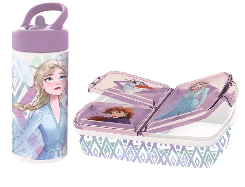 Euromic - Frozen Lunch Box & Water Bottle