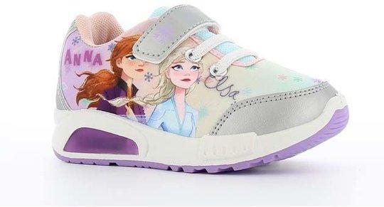 Disney Frozen 2 Blinkende Sneakers, Silver, 25