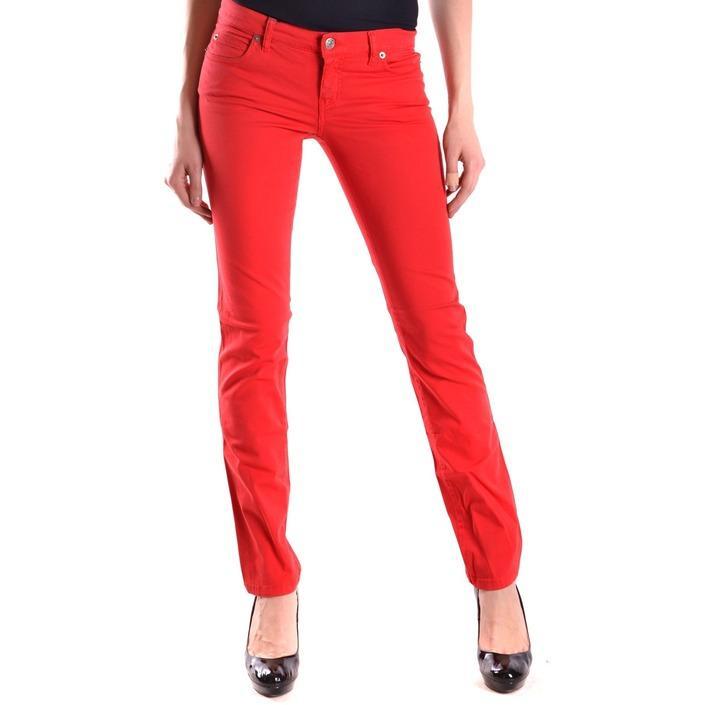Alexander Mcqueen Women's Jeans Red 161838 - red 26