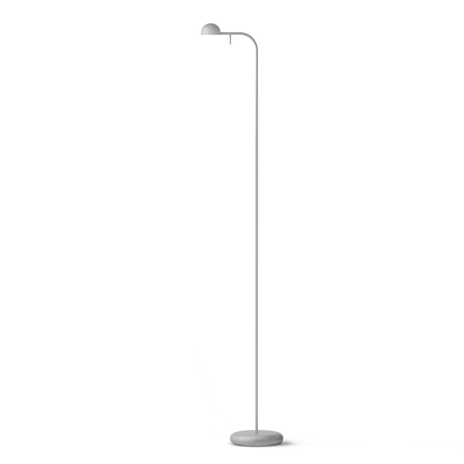Vibia Pin, 1660 LED-gulvlampe, 125 cm, hvit
