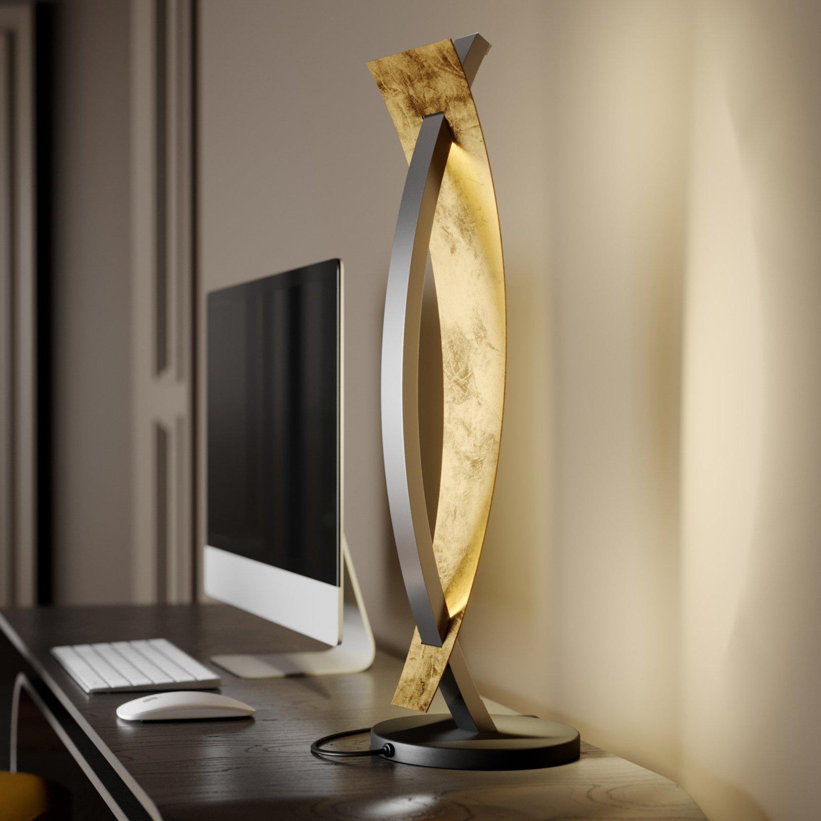 LED-bordlampe Marija i svart