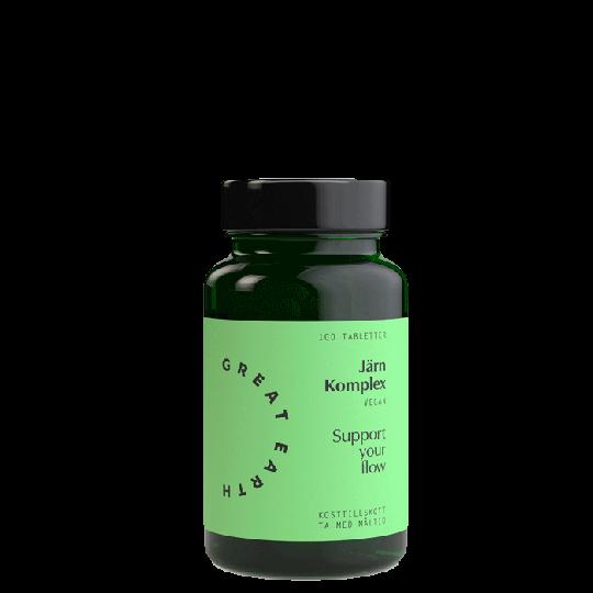 Järn Komplex 25 mg, 100 tabletter