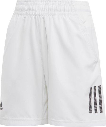Adidas Boys Club 3-Stripes Shorts, White 116