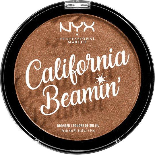 California Beamin' Face & Body Bronzer, NYX Professional Makeup Aurinkopuuteri