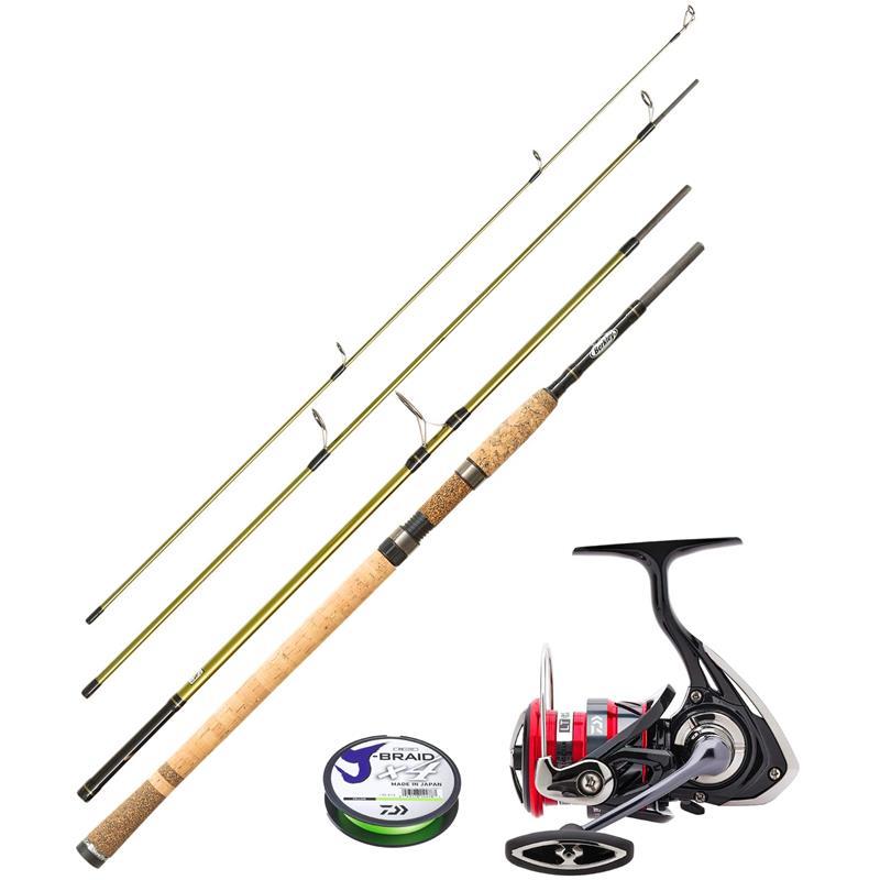 Berkley Rod Phazer Pro/Daiwa 18 Ninja LT Perfekt fiskesett til lett fiske