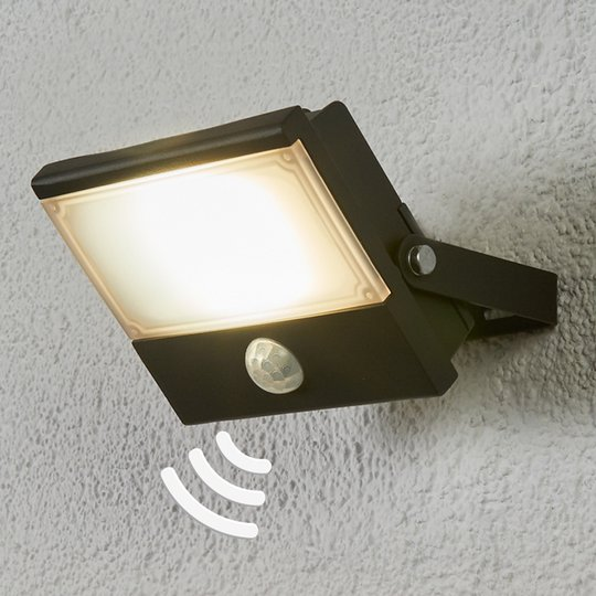 Auron - LED-ulkovalaisin tunnistimella