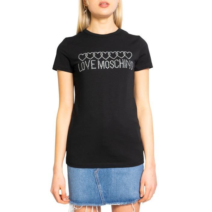 Love Moschino Women's T-Shirt Various Colours 198116 - black 38